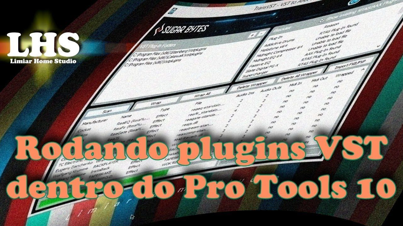 rodando plugins vst dentro do pr
