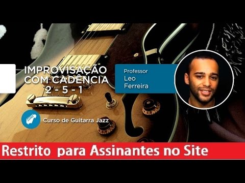 guitarra jazz improvisacao com c