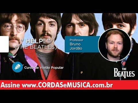 help the beatles aula de violao
