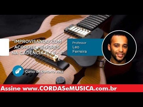 guitarra jazz improvisando com a