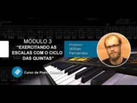 piano e teclado exercitando as e