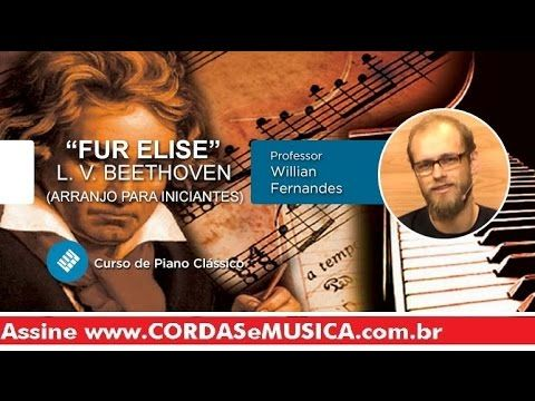fur elise beethoven piano classi