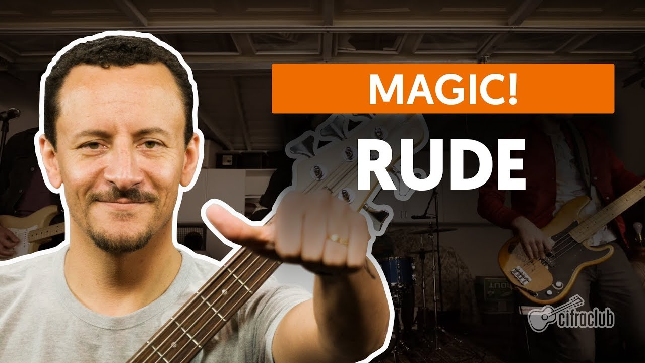 rude magic aula de baixo