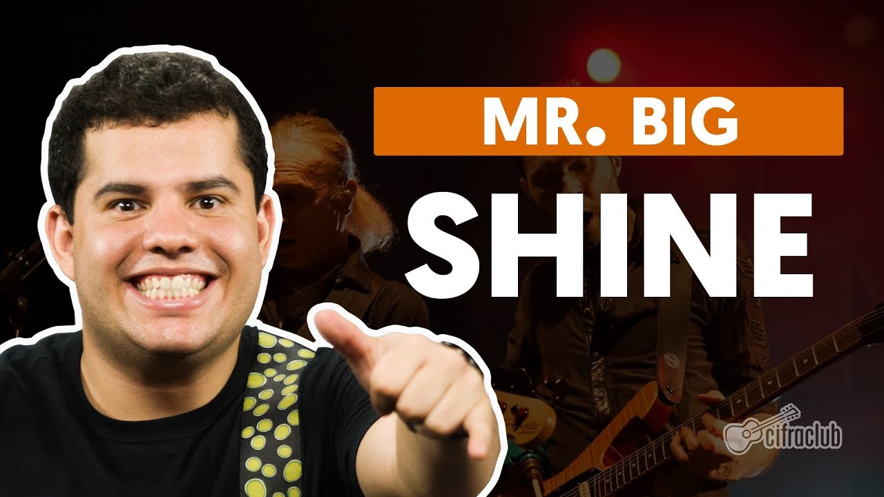 shine mr big aula de guitarra