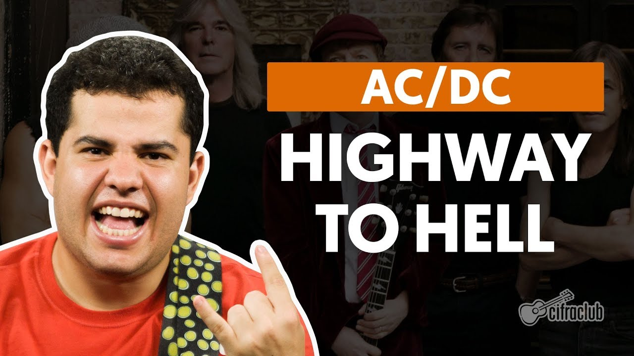 highway to hell acdc aula de gui