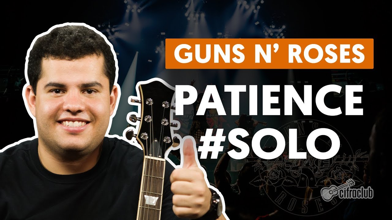 patience guns n roses how to pla