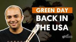 back in the usa green day aula d 1