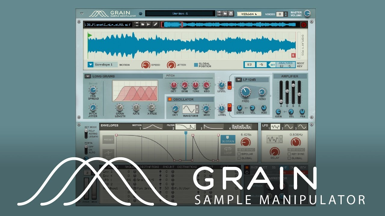 granular synthesis with grain sa