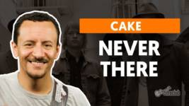 never there cake como tocar no b