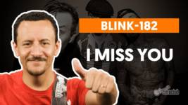 i miss you blink 182 como tocar