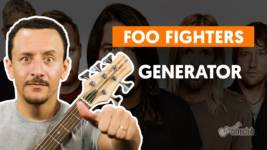 generator foo fighters como toca
