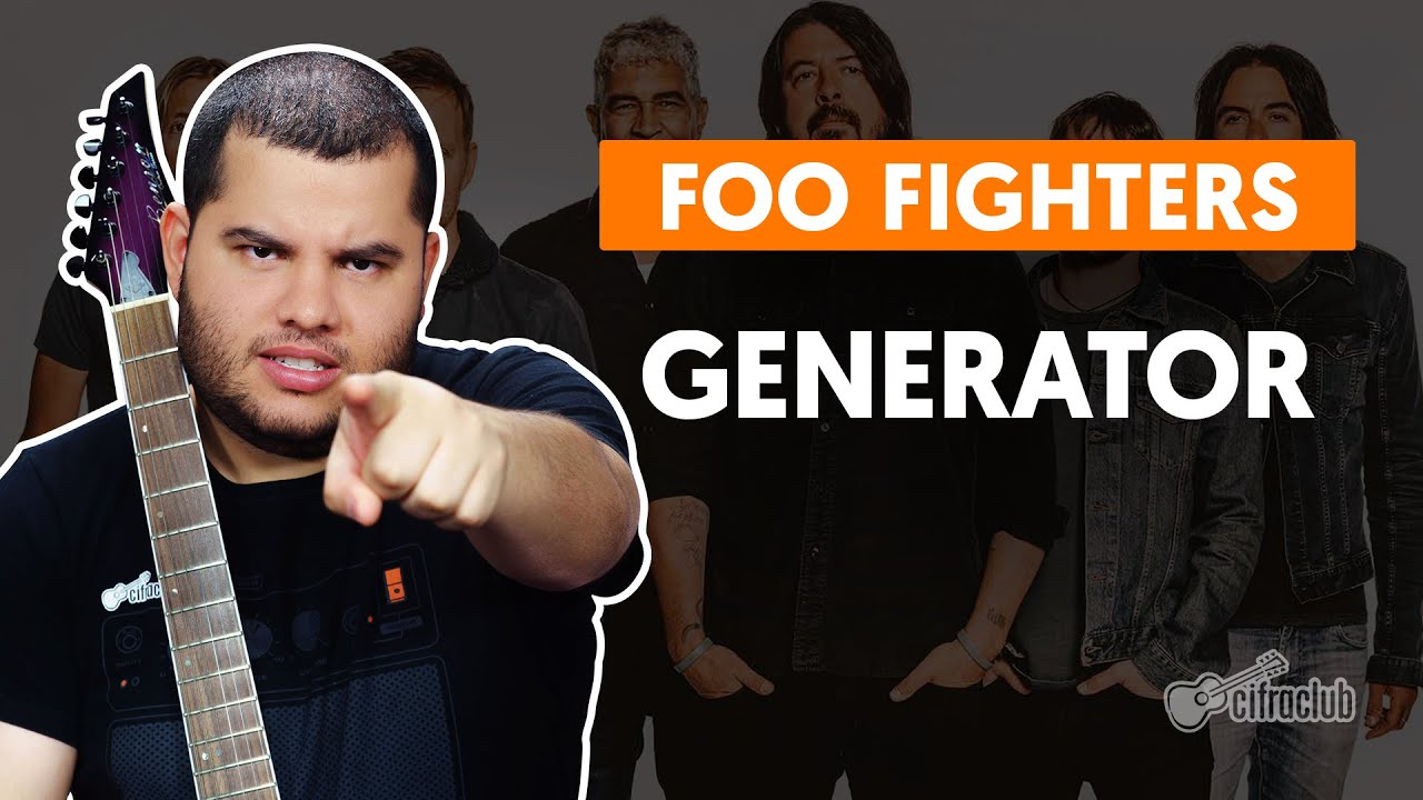 generator foo fighters como toca 1