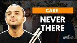 never there cake como tocar na b